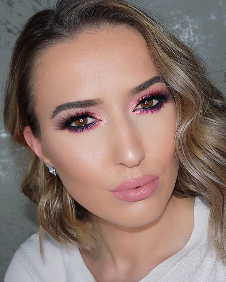 Orange summer glow with blush makeup look 🔥🔥🔥   Beauty