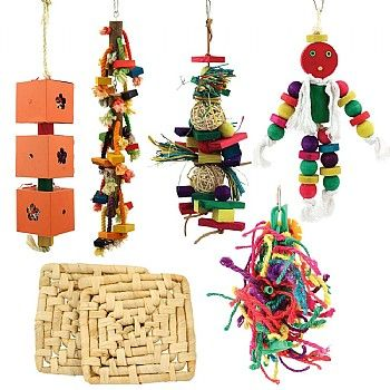 Black Friday Half Price Parrot Toy Pack available for a short time only, so don't miss out.