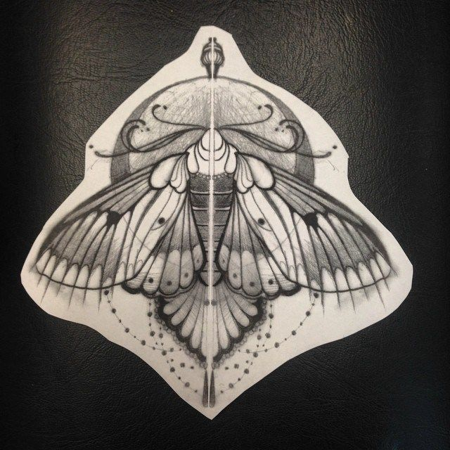 moth shoulder tattoo - Google Search