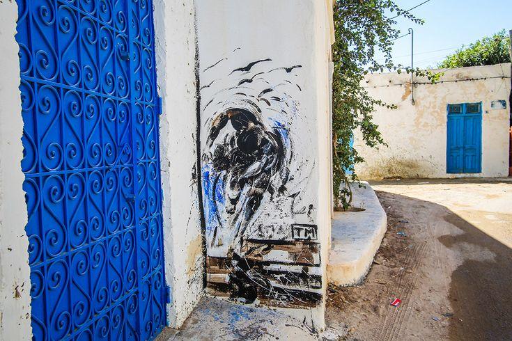 TM (Tunisia) #streetart #erriadh #djerba #tunisia #acrylic