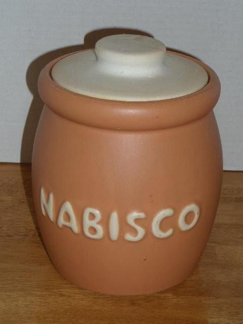 Vintage McCoy Nabisco Cookie Jar 78 by Shellysitems on Etsy, $41.00
