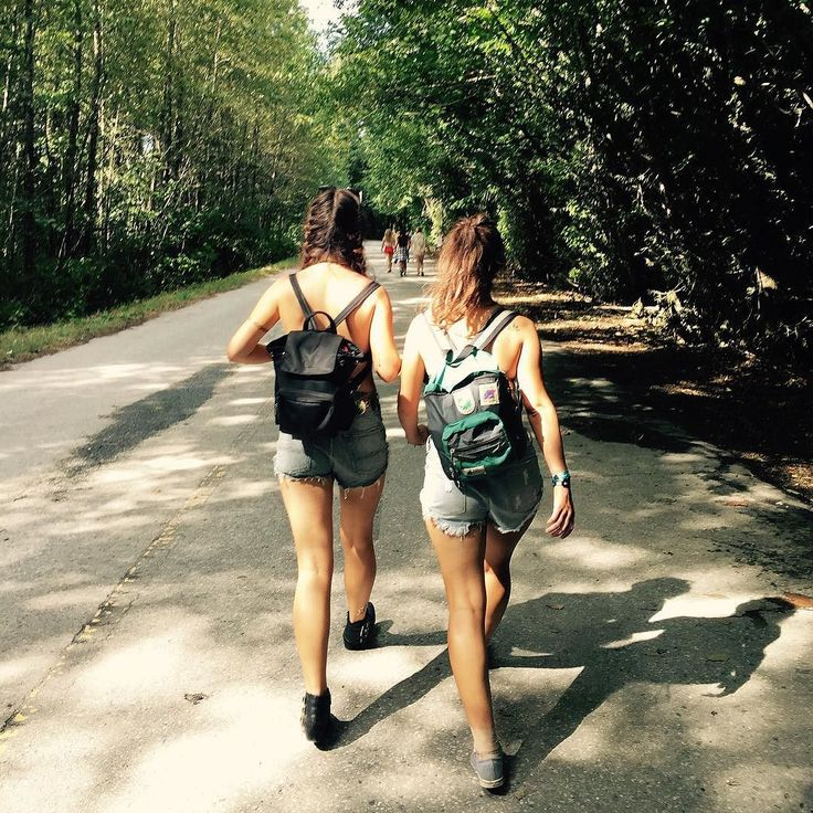 """...started wearing less and going out more..."" Missing the summer strolls through #Squamish but mostly Drake p.s we are not topless {#Summer #Bff #RunningThroughThe6WithMyWoes }"