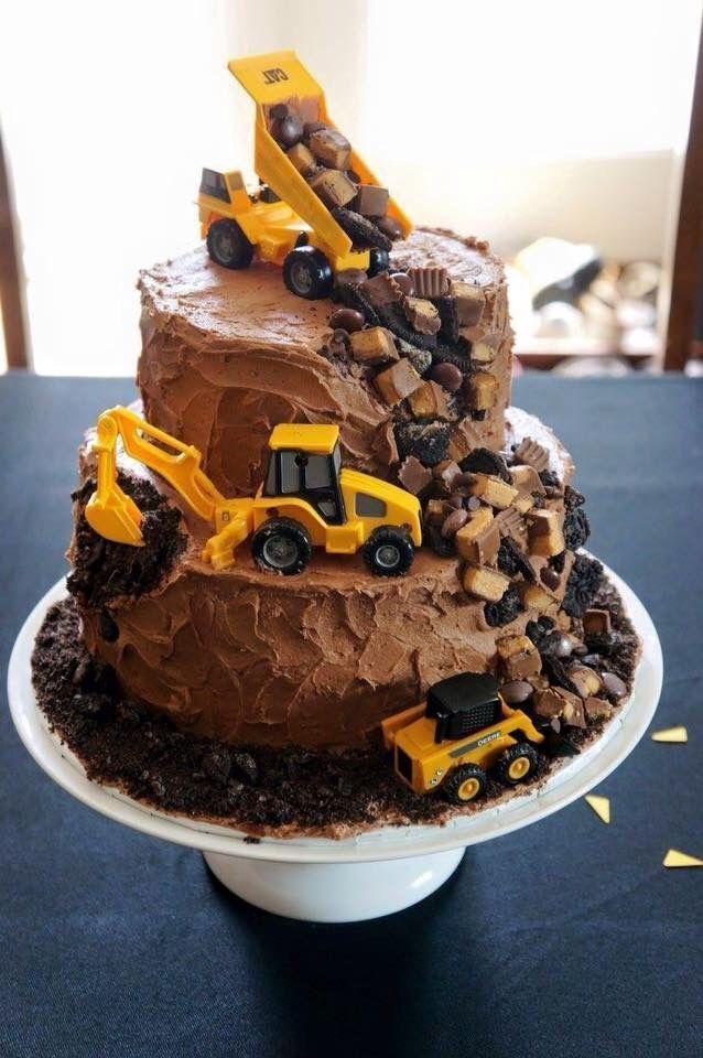 Eine schöne Idee für das Essen zu unserer Bauarbeiter-Party. Da werden die kle
