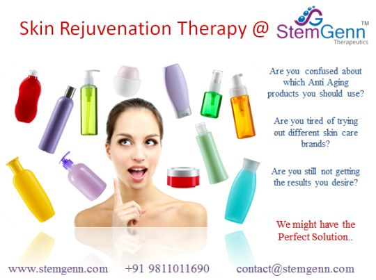 Skin Rejuvenation with Stem Cells
