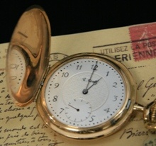 Antique watch from Chilton's antiques