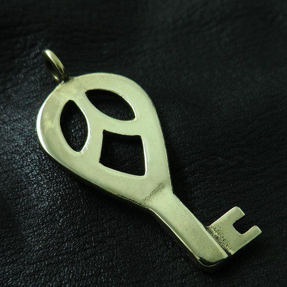 Bronze Viking key by Sulik on Etsy