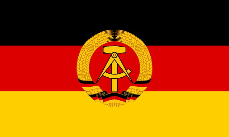 Flag of German Democratic Republic - Bandeira da Alemanha – Wikipédia, a enciclopédia livre