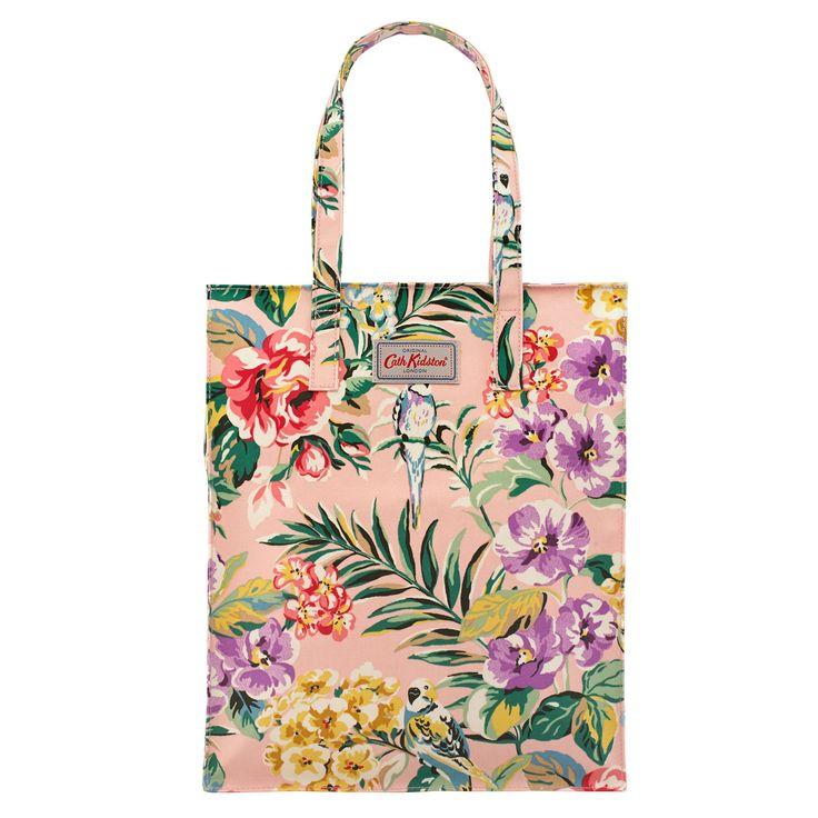 Tropical Garden Tall Zipped Shopper | Tropical Garden | CathKidston