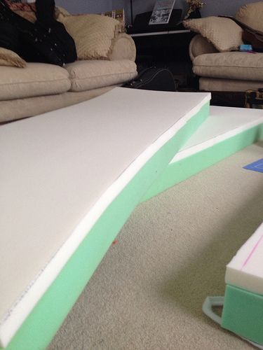Cushions - Cutting and Gluing Foam and Memory Foam | Vintage Trailer Talk