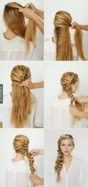 Festliche frisuren halblange haare