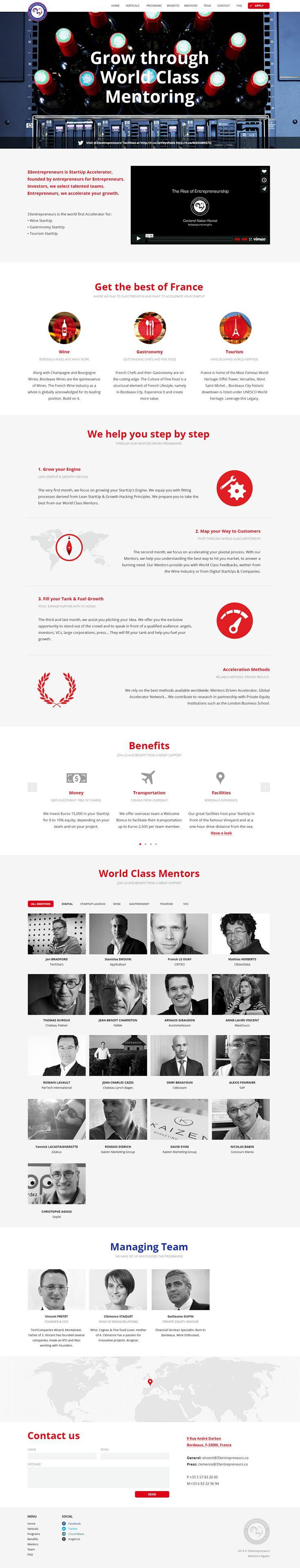 33entrepreneurs | StartUp Accelerator