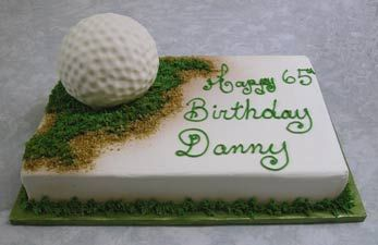 Cakes with Golf themes - ideas