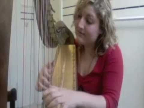 morrowind theme on harp