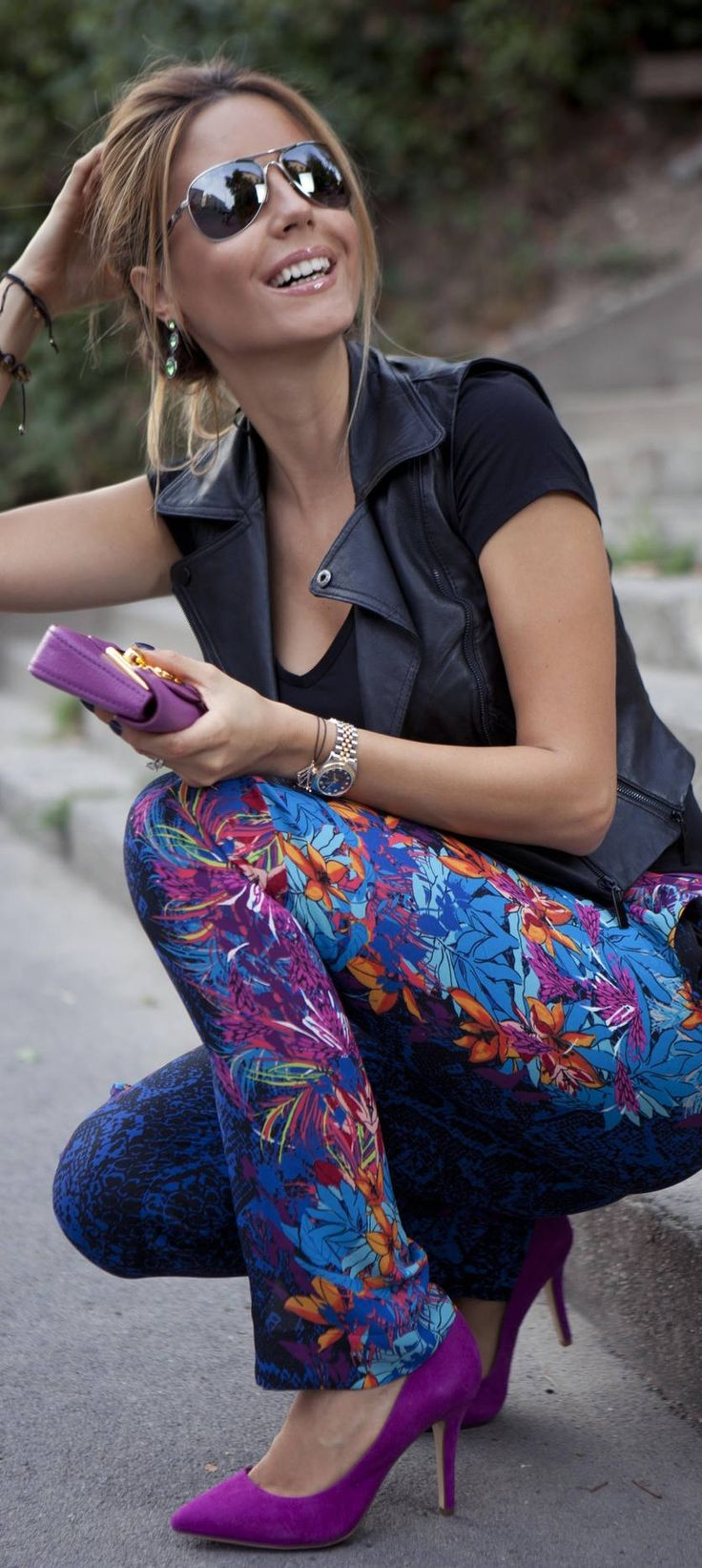 Toronto fashion week street style a purple haze - Find This Pin And More On My Style