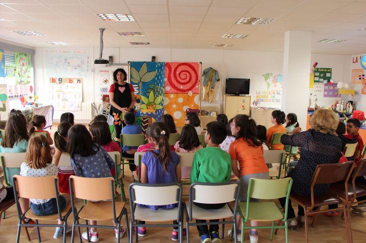 Cuentacuentos Eugenia Manzanera en San Vicente de Alcántara