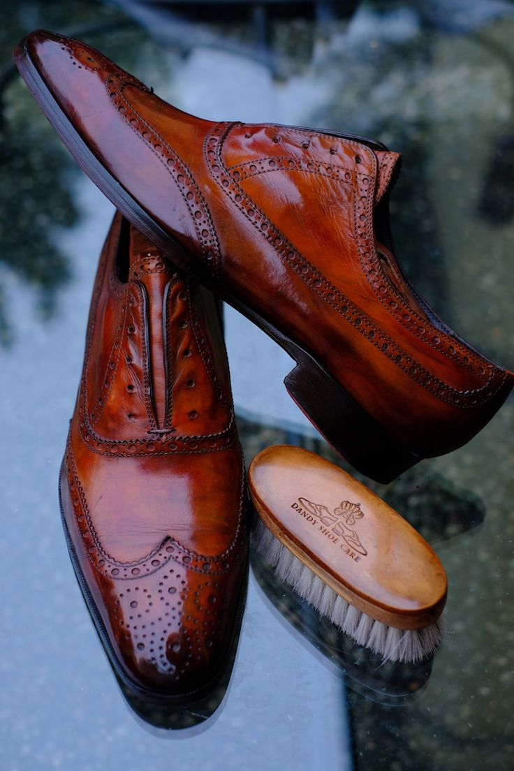 Your shoes are a sort of a business card. Do not neglect this important  aspect