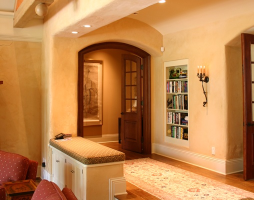 These double doors lead to a luxurious master suite……….Learn more about how better design makes your home a more fulfilling place to live on our blog at www.rtastudio.blogspot.com