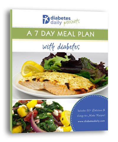 A 7-Day Diabetes Cookbook