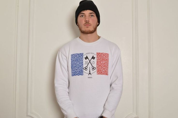 Frenchy Flag Sweater / TrueVisionParis