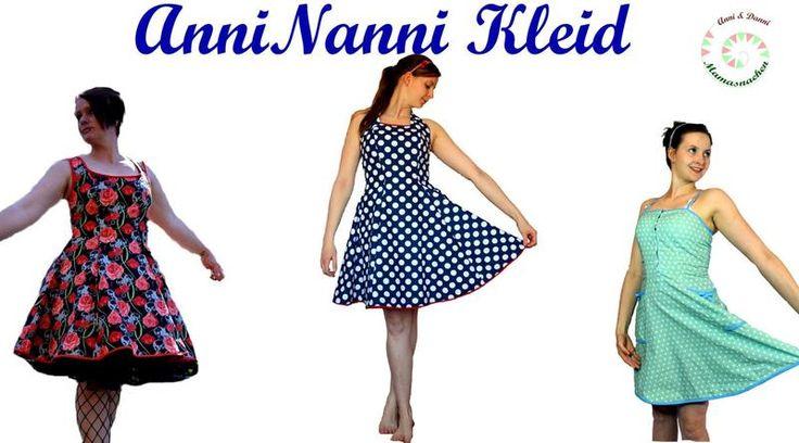 AnniNanni Kleid von Auf-Samtpfoten auf DaWanda.com
