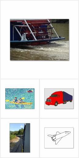 Transportation Flash Cards - Find a variety of flash cards that feature transportation. The text on the back can be customized with your own words and or sentences. #education #literacy #flashcards