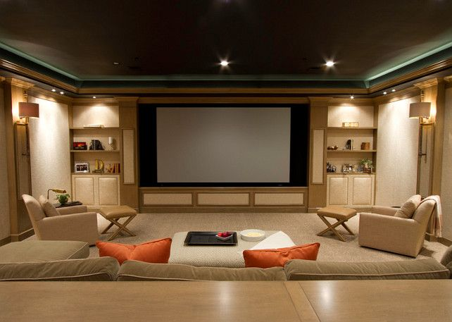 1000+ Images About Media Room On Pinterest | Theater Rooms