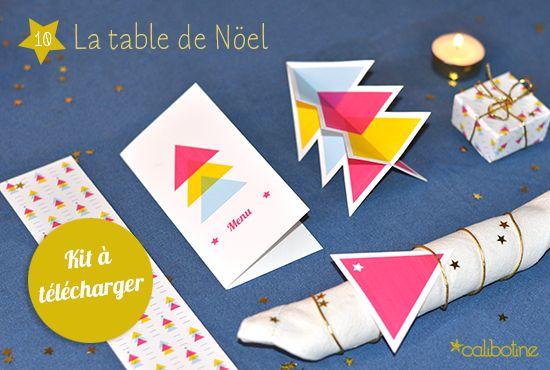 diy by Calibotine: #9 - La table de Noël