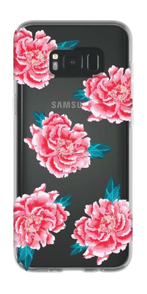 Fleur Rose for Galaxy S8+ // Fleur Roses are red, violets are blue, with this beautiful case on your Samsung Galaxy S8+, all your style dreams will come true!
