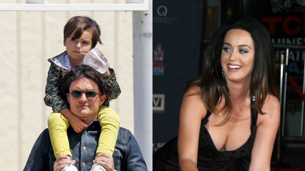¡Sexy madrastra! Katy Perry y Orlando Bloom ya actúan como una ella es gorda ajjajajaj  23