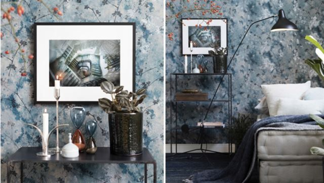 Bedroom | Wallpaper Heidi | Sandberg Wallpaper