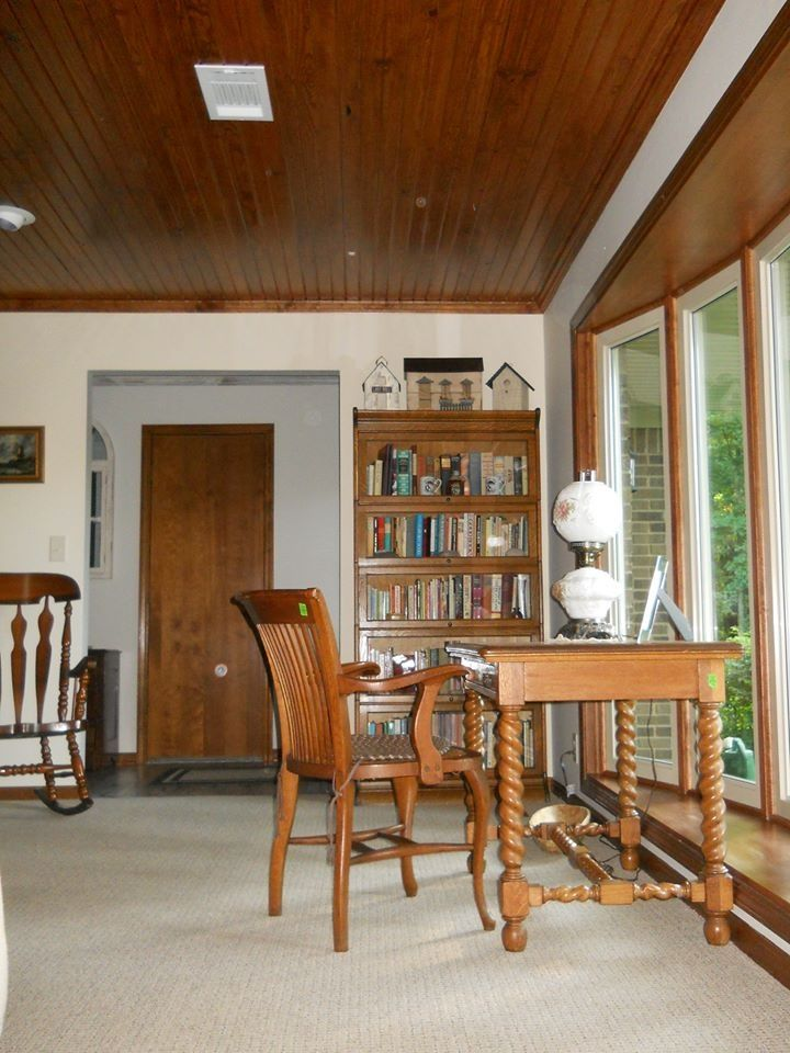 Turn a dining room into a library real estate - Turning a living room into a dining room ...