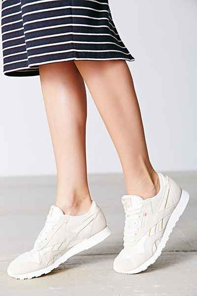 Reebok X UO Classic Nylon Running Sneaker - Urban Outfitters-running and hanging travel sneaker?