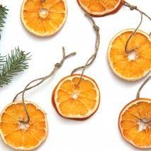Как сделать: высушенные апельсиновые дольки