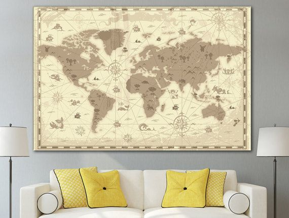 Best World Country Maps Images On Pinterest Country Maps - World map for home