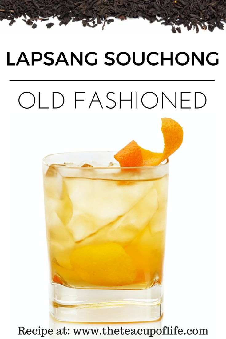 Muddled lemon and orange zest with honey syrup, Lapsang Souchong black tea and Bourbon garnished with orange twist. Try out the recipe!