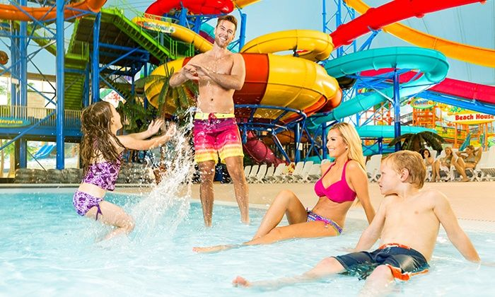 Single Day Admission For One Or Two At Fallsview Indoor Waterpark