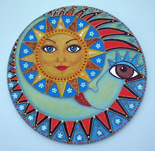 ➳➳➳☮ American Hippie Art ~ mandala                                                                                                                                                                                 More