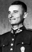 Gen. Jan Golian, leader of 1st Czech Army during the Slovak National Uprising. He was captured on 1 Nov. 1944 at Donovaly along with Gen. Rudolf Viest & Maj. Jaroslav Krátký. They were sent to Flossenburg where they were executed in Mid-March 1945.