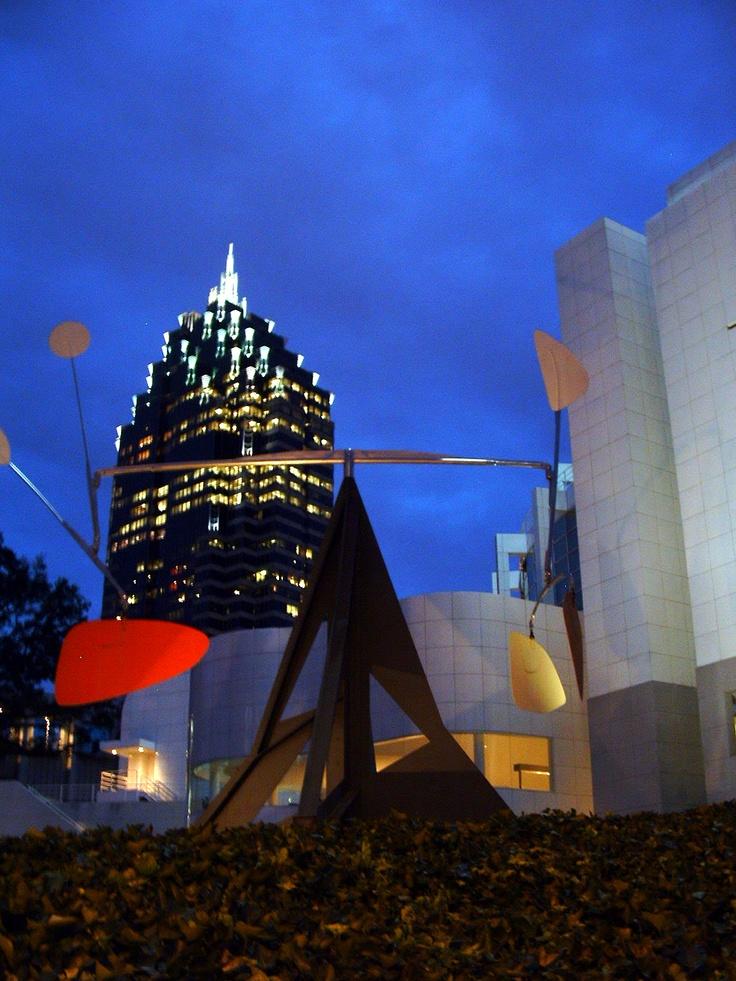 Calder Sculpture at High Museum of Art - Atlanta #art #museums