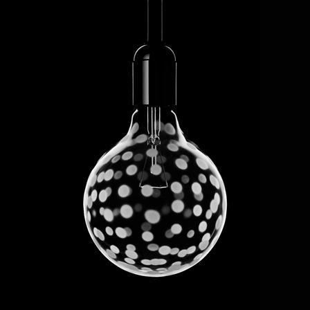 Orrefors Light Shadow Bulb Confetti