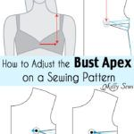 How to Adjust the Bust Apex on a Pattern