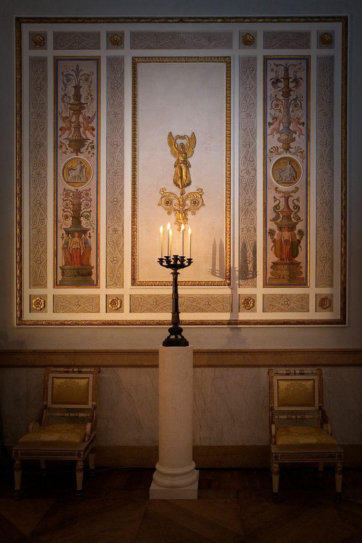 Candeliere e Decorazione del Palazzo Reale di Venezia