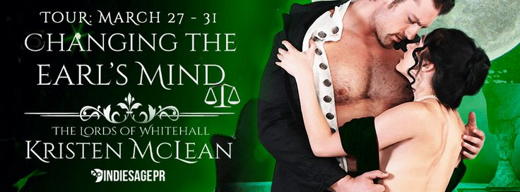 Changing the Earls Mind Tour By Author Kristen McLean  Changing the Earls Mind  byKristen McLeanThe Lords of Whitehall #3Publication Date:March 26 2017Genres: Adult Historical Romance  Purchase:Amazon|Amazon UK|Barnes & Noble |Kobo|iBooks  A man who knows everything  For nearly a decade Drake Ramsey the disciplined and logical Earl of Saint Brides has been the driving force behind the Home Office; meeting with foreign leaders to negotiate treaties spurring a lethargic Parliament into action…