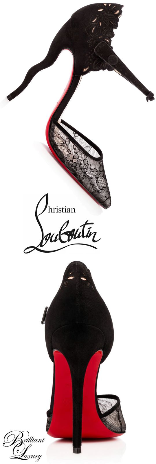 Brilliant Luxury * Christian Louboutin 'Magicadiva' 2015