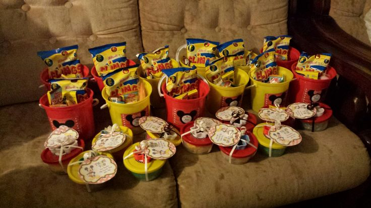 Mickey mouse party favours and packs