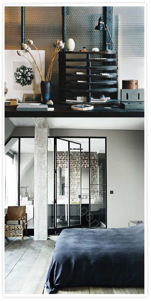 1000 images about windows on pinterest grey wood hunters and atelier - Fenetre metal style atelier ...