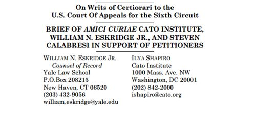 Read the Koch Brother's Libertarian CATO Institute's BRIEF OF AMICI Supporting Same-Sex Marriage To SCOTUS http://www.back2stonewall.com/2015/03/read-koch-brothers-libertarian-cato-institutes-amici-supporting-same-sex-marriage-scotus.htm l#p2 #LGBT
