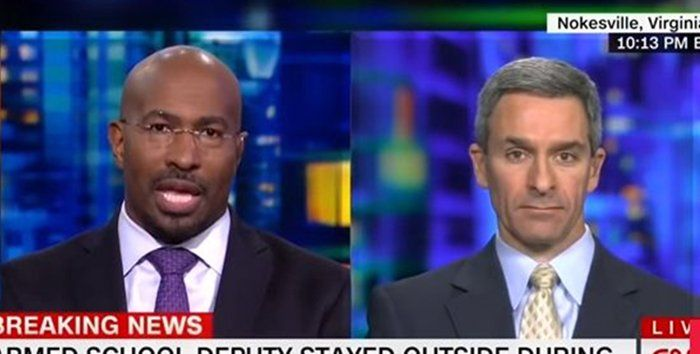 CNN's gun control segment derails: Van Jones argues we can't arm teachers because they're… racists