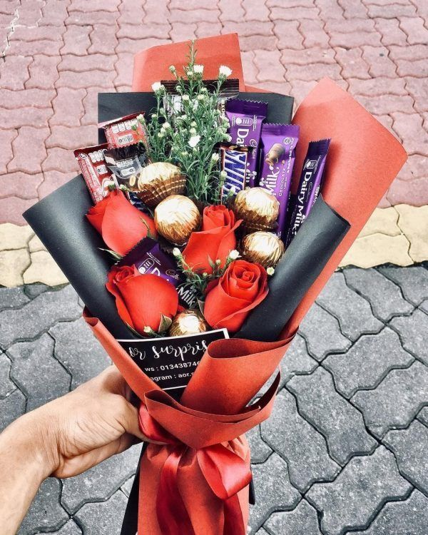 Pinterest Lowkeyy Wifeyy I Love It Valentine Gifts Gift Bouquet Flowers Bouquet Gift