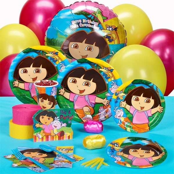 Cake Art Supplies Tucker Ga : Dora and Friends Standard Party Pack   Set of 8 ARTS ...